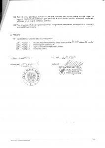 Zmluva o dielo STAVEX Nitra s.r.o. - posl.
