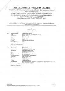 Zmluva PROUNION - str.1